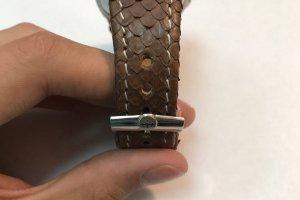 Ремешок для часов из кожи питона