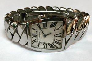 Часы Cartier - вид после ремонта
